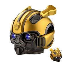 Bluetooth Speaker Flashing-Light Bumblebee Portable BT LED Mini