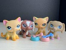 Pet Shop köpek oyuncak kısa saç kediler sosis köpek şekil çok sevimli kase kemik aksesuarları şekil kız erkek hediye