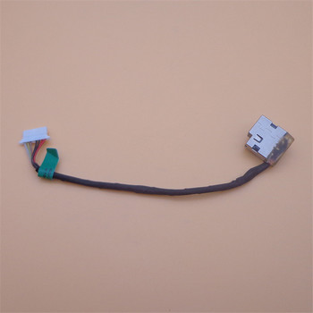 Original Power Jack Cable Charging Connector Wire For HP 15-AF/AC TPN-120/-C125/C120 15Z-BA/BN/AY image