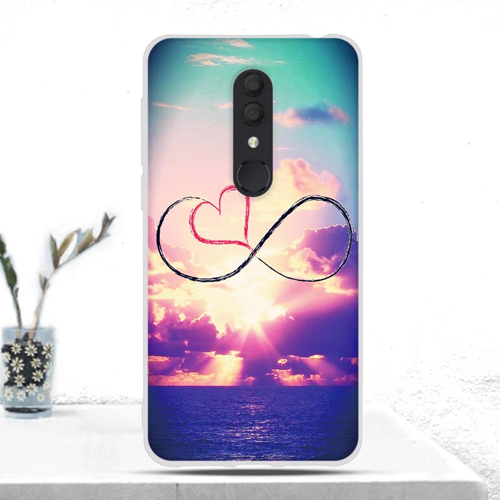 Soft TPU Silicone Case For Alcatel 3 2019 3L 2019 Case Cover Fundas Back Cover Bumper For Alcatel 3 (2019)/3L (2019) Case Coque