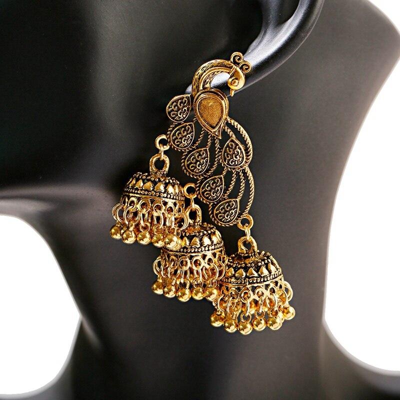 Hot Price 0ba48 Retro Bollywood Oxidized Gypsy Jewelry Women