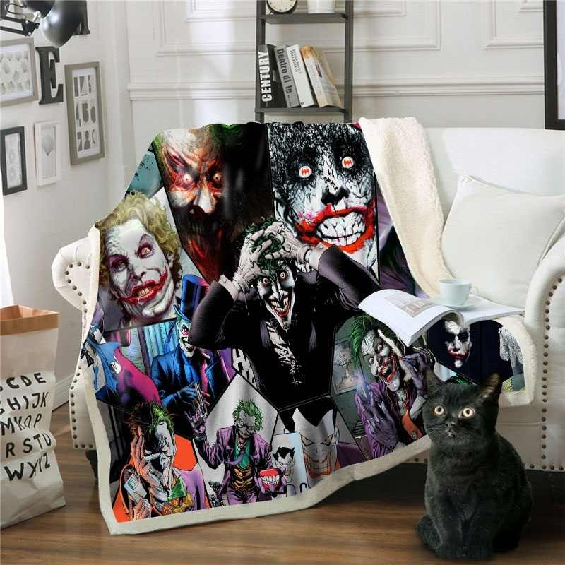 Seed Of Chucky 3D Printed  Fleece Sherpa Warm Bed Sofe Throw Blanket Bedding