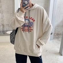 2019 Men's Summer New Casual Pattern Printing Long-sleeved Hooded Loose Temperament Trend Cotton Hoodies Harajuku ключ wedo ct3316 50