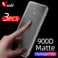 1-3Pcs mate de hidrogel película para Xiaomi Redmi Nota 10 9 8 7 5 Pro 4X ir K30 9A 8 Protector de pantalla para Xiaomi 10 Ultra suave película