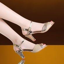 Women Sandals Summer Shoes Woman Dress Shoes Bling Weddging
