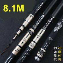 AIDOKE Canmaly Extra Hard Telescopic Fishing Rod 19 Extra Fa