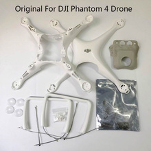 Originele Merk Nieuwe Dji Phantom 4 Body Shell/Landingsgestel Bovenste Bodem Licht Cover Schroef Set Voor P4 Drone reparatie Onderdelen