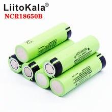 Liitokala Bateria De Lítio Recarregável, Original Pro, 3,7 v, 3400 Mah, 18650