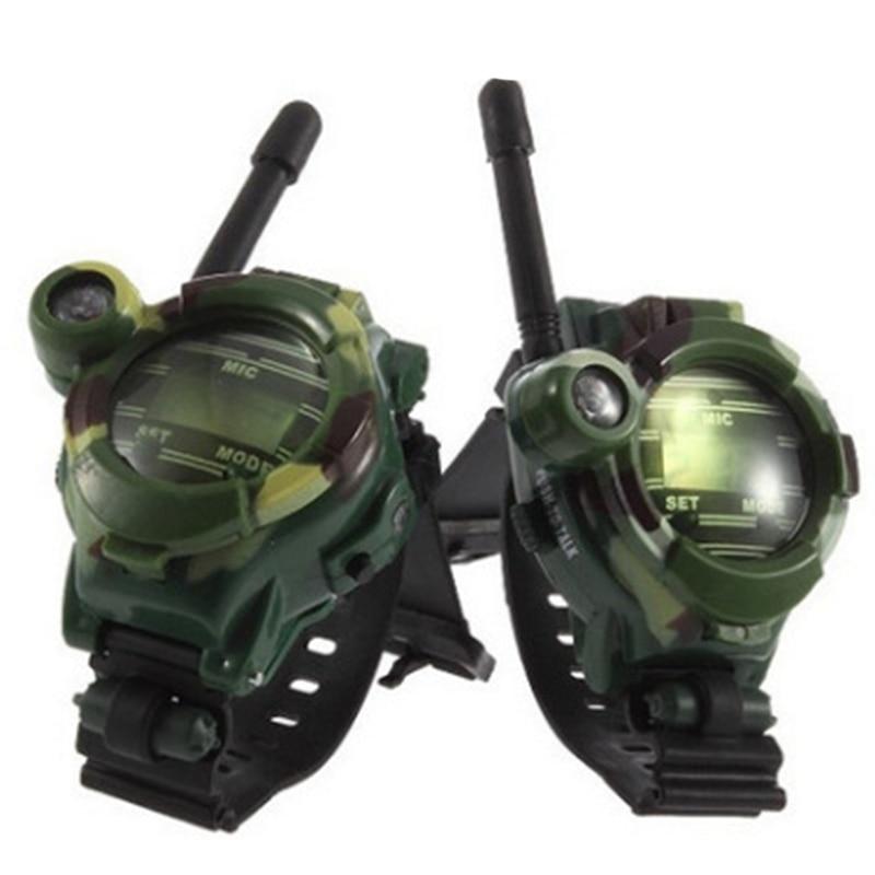 Parent-enfant montre talkie-walkie Parent-enfant jouet enfants talkie-walkie jouet paire de sept-en-un montre talkie-walkie