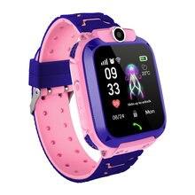 Q12 kinder Smart Uhr Telefon Wasserdichte Anti Verloren S12 Kinder Multifunktions Digitale Armbanduhr SOS Überwachung Positionierung Heißer