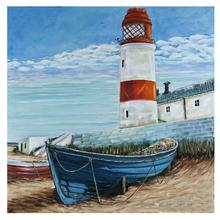 5D DIY Full Square Round Diamond Embroidery Mosaic Display Ferry Painting lighthouse Picture Gift