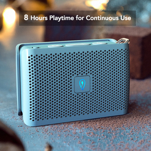 Image 5 - DOSS Genie Tragbare Bluetooth Lautsprecher IPX4 Mini Wireless Lautsprecher Stereo Sauberen Klang Box mit Eingebautem Mikrofon für Geschenk Präsentieren