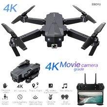 EBOYU-Drone RC SG107, caméra HD 4K, WiFi FPV, pliable, positionnement du flux optique, avec caméra HD, WiFi, RTF quadrirotor