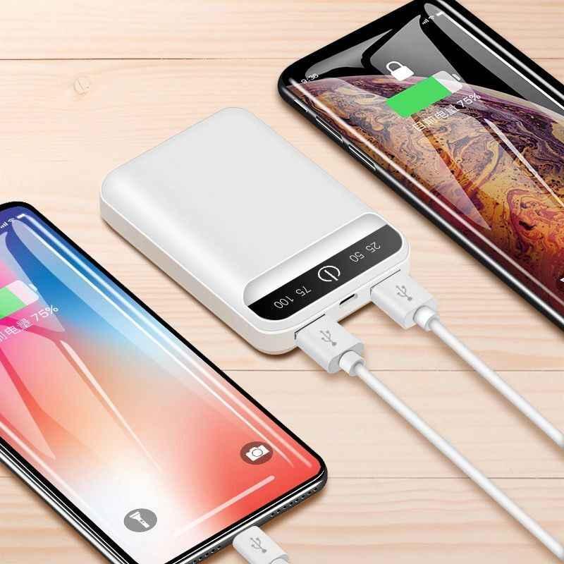 Banco de energía ultradelgado de 5600mah, cargador de batería portátil USB, Banco de energía, Banco de energía externo de batería para xiaomi2 iPhone8 X