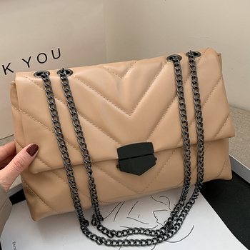 dizhige brand 2017 spring summer fashion crossbody bags single shoulder bags ladies pu leather bags women handbags new sac femme New Casual Chain Crossbody Bags For Women Fashion Simple Shoulder Bag Ladies Designer Handbags PU Leather Messenger Bags Brand