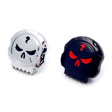 Aftermarket Free Shipping Motorcycle Parts Motorcycle Skull Fuel Gas Tank Cap Cover For Harley Dyna Softail Sportster 1984-2020