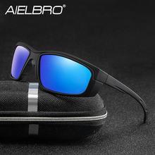 Aielbro велосипедные очки mtb Поляризованные солнцезащитные