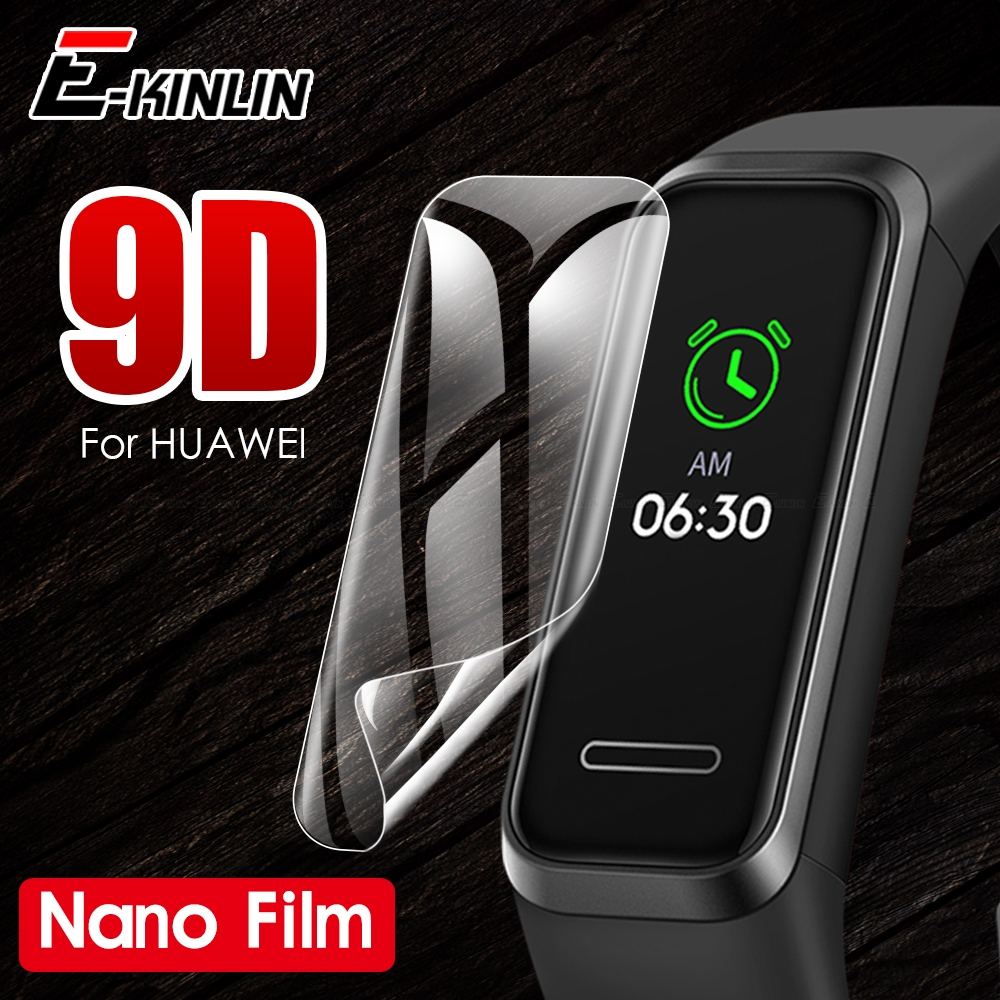 HD Clear Screen Protector Display Soft Nano Anti Explosion Film For Huawei Band 4e 3e 2 3 4 Pro TalkBand B5 B3 Lite Color A2