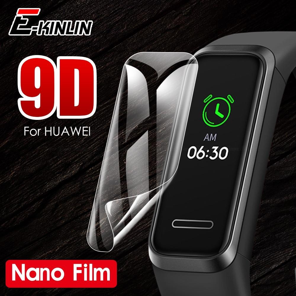 HD Clear Screen Protector Display Soft Nano Anti Explosion Film For Huawei Band 4e 3e 2 3 4 Pro TalkBand B5 B3 Lite Color A2