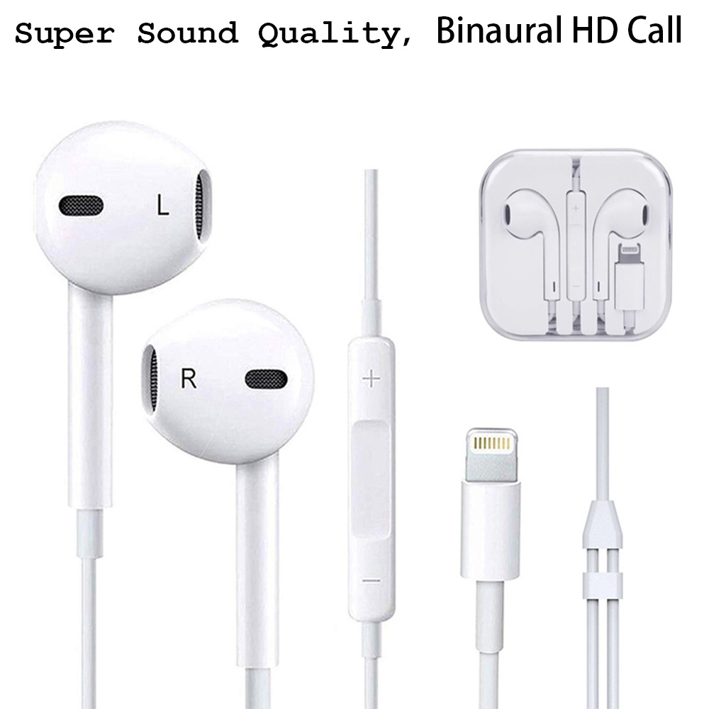 Image 3 - ANRY Earphone Headsets With Built in Microphone 3.5mm In Ear Wired Ear phone for IPhone X XR XS Max 8 7 6 6S Plus 6 5 5S-in Phone Earphones & Headphones from Consumer Electronics