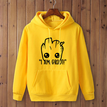 I AM GROOT Hoodie Unisex (16 Different Colors) 1