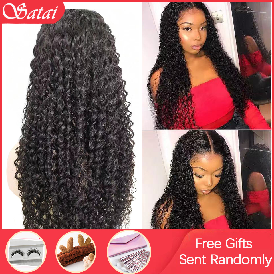 Curly Human Hair Wig Pre Plucked Hairline 150 Density 13x4 Lace Front Human Hair Wigs Jerry Curl Lace Front Wig Remy Wigs
