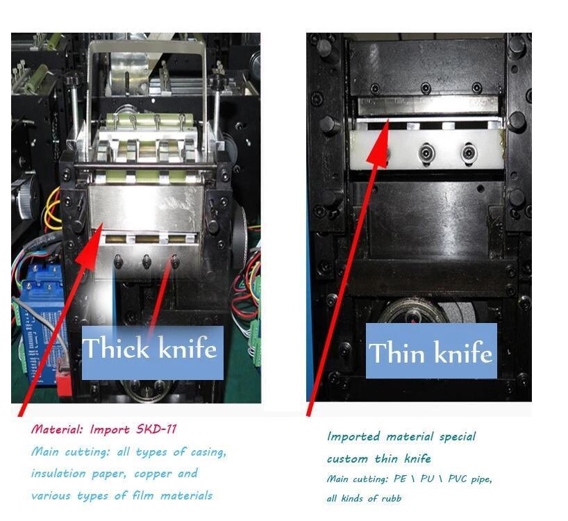 Nouvelle Machine de découpe de câble de tuyau de rétrécissement de voiture 110v et 220v Machine de cisaillement automatique de gaine thermorétractable - 4
