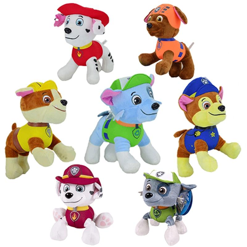Dog patrol dog plush toy paw patrol plush doll Skye character and action character cartoon model sonic plush plush toy child