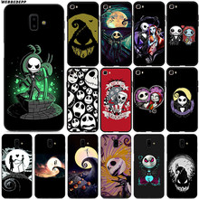 Martinetti Skellington Morbido per Samsung Galaxy J8 J6 J4 Più Prime J4 A2 Core J7 Duo Silicone(China)