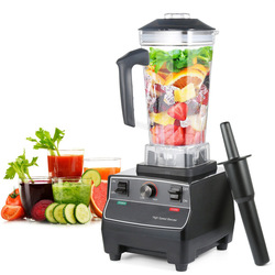 BPA Free Commercial Grade 2L Blender Mixer Heavy Duty Semiautomatic Fruit Juicer Food Processor Ice Crusher Smoothies 1650W