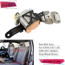 ZUK عالية الجودة الجبهة حزام أمان السيارات آسى مقعد حزام الأمان لهوندا ل سيفيك 2006 2007 2008 2009 2010 2011 FA1 1.8L
