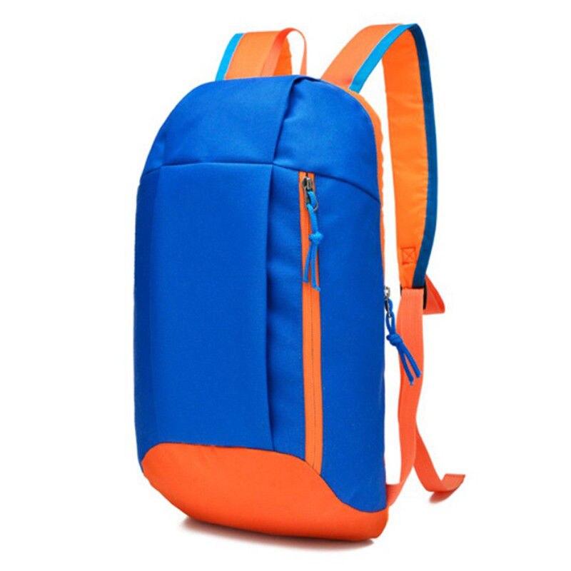 Sports Backpack Hiking Rucksack Men Women Unisex Schoolbags Satchel Bag Soft Handle Lightweight Nylon Travel Backpacks