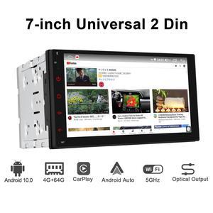Image 5 - JOYING 2 din head unit car radio player GPS Navigation universal stereo multimedia 4GB+64GB support 4G/Carplay/Reverse camera BT