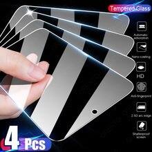 4PCS Vidro Temperado Para Samsung Galaxy A51 A50 A71 A70 A52 A72 A80 A40 A60 S de Vidro Protetor de Tela Para Samsung A31 A01 A20E M51