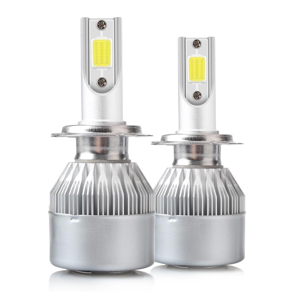 Headlight Bulbs Car Lights for Lens H4 Cree Led Led Osram Piece Automobile C9 Led H7 Led Osram Auto Led Lamp 881 Led Auto