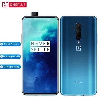 Купить Глобальная версия Oneplus 7T Pro HD1913 8 Гб 256 Гб мобильный телефон 6,67 дюймSnapdragon 855 + Восьмиядерный 48MP 4085mAh 30W 4G NFC Смартфон