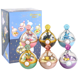 Image 5 - Estuche de Anime Monster Dreaming, figuras Vol.2, Eevee, Leafeon, Sylveon, Glaceon, Umbreon, Mini figuras de juguete, 6 unidades