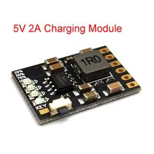 2A 5V Charge Discharge Integrated 3.7V 4.2V Lithium Battery Boost Mobile Power Protection Diy Electronic PCB Board Module