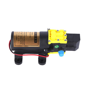 Image 4 - High Quality DC12V 6L/min Intelligence Micro High Pressure Diaphragm Water Sprayer Car Wash Agricultural Electric Water Pump