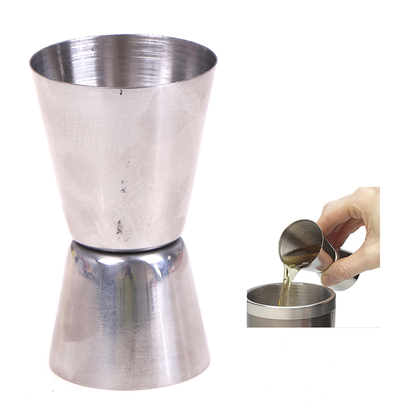15/30ml Stainless Steel Measuring Cup Measuring Wine Glass Ounce Cup Cocktail Drink Liquid Measuring Cup Tools