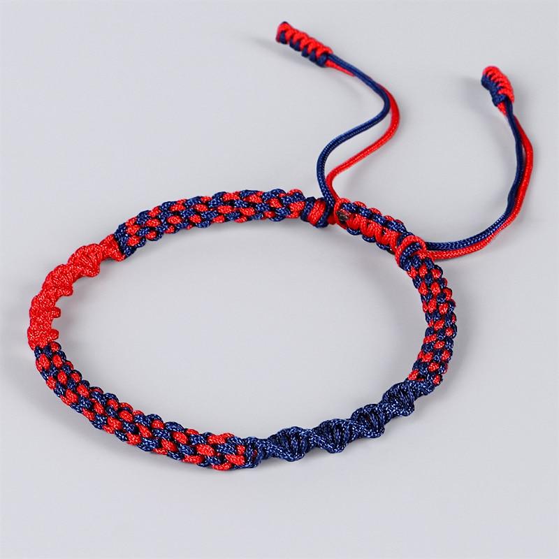 Tibetan Buddhist Lucky Amulet Tibetan Bracelets & Bangles For Women And Men Handmade Knots Rope Lucky Gift Bracelet