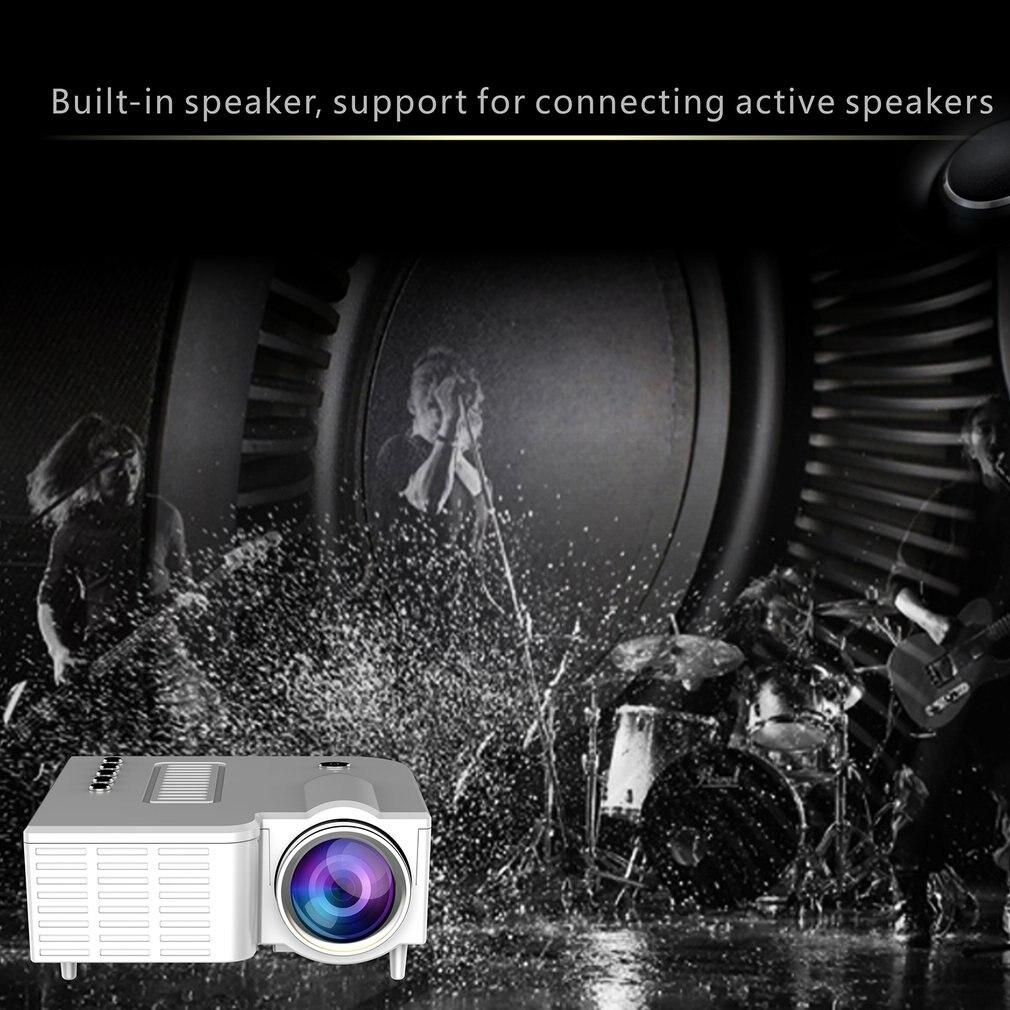 Uc28c + projetor em casa mini miniatura portátil 1080p hd projeção mini projetor led para entretenimento de teatro em casa-1