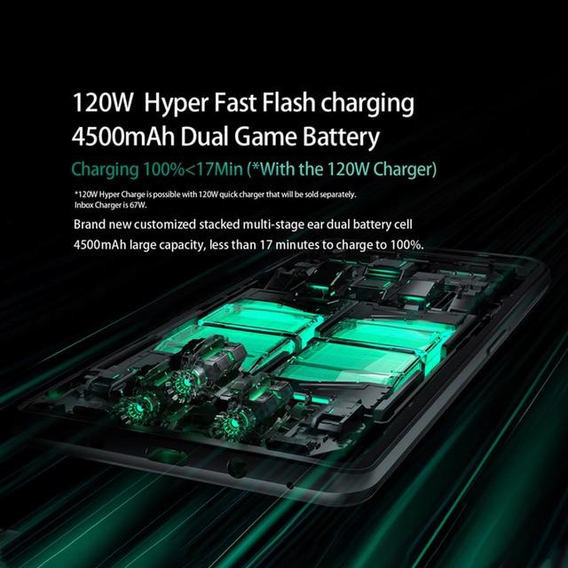 NEW 2021 Black Shark 4 5G Global Version Smartphones Snapdragon 870 8GB 128GB 144Hz AMOLED Display 2