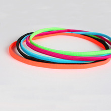 Anti-slip Elastic Rubber Thin Sports Headband