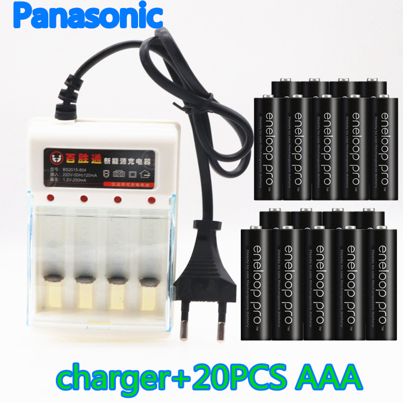 Panasonic AAA <font><b>Battery</b></font> Rechargeable 950mAh <font><b>1.2V</b></font> Ni-MH Camera Flashlight Toy AAA Rechargeable <font><b>Batteries</b></font>+<font><b>1.2V</b></font> <font><b>AA</b></font> charger image