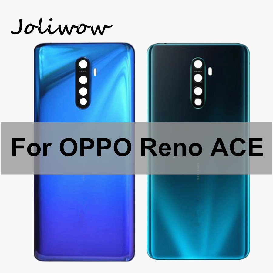 6.5 inch For OPPO Reno ACE Back Housing Back Cover door Glass Battery Case Replacement for Oppo Reno Ace Battery Cover