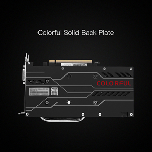 Image 5 - Colorful iGame GeForce RTX 2060 Graphic Card GDDR6 6G V2 GPU Gaming Video Card 1365 1680Mhz PCI E 3.0 placa de video For PC