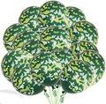 10 шт./лот 12 дюймов зеленый камуфляж вечерние воздушные шары на день рождения бак латексные шары наряд для фотосессий боевые армейские военн...