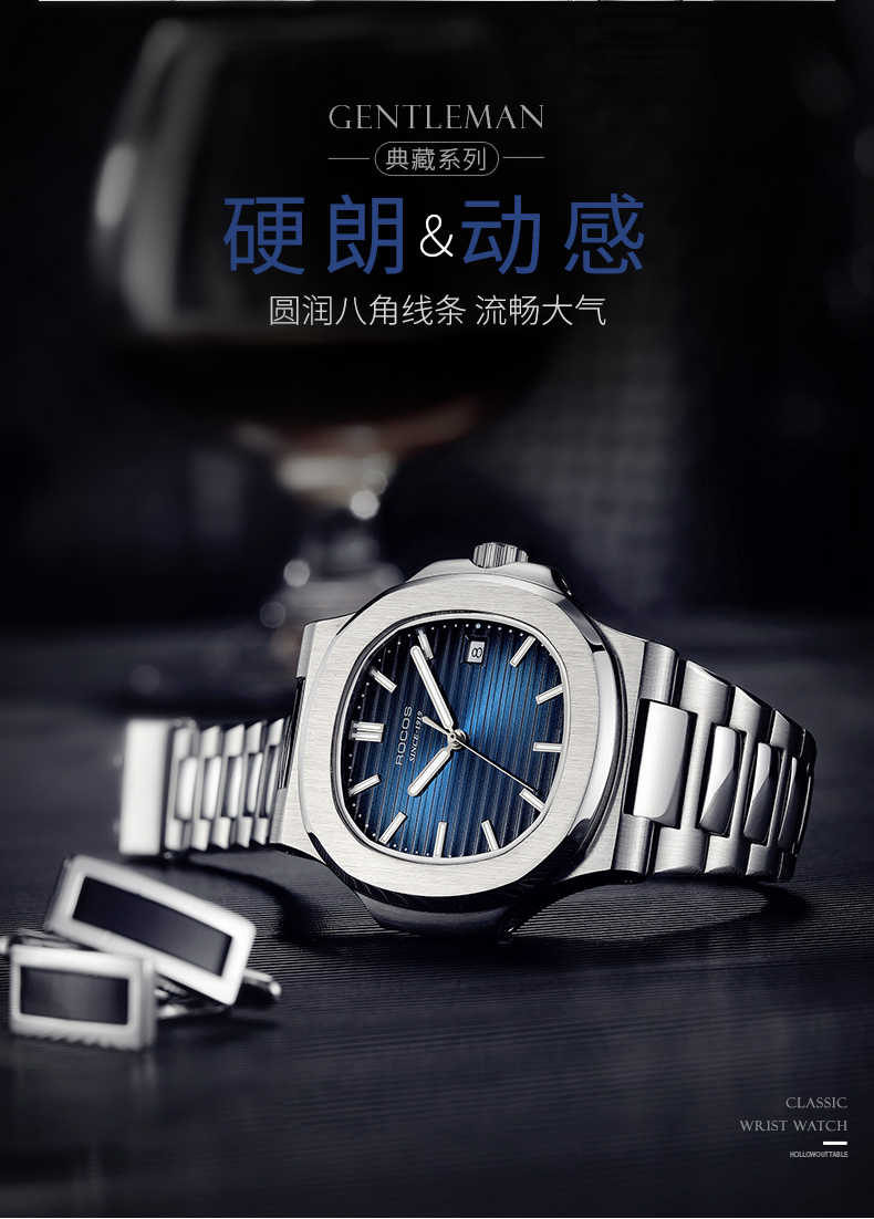 DIDUN Hot top marca de luxo Japão MIYOTA hommes montre automatique modo en acier inoxydable mâle horlogemain 2019