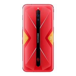 "Image 5 - الإصدار العالمي النوبة الأحمر ماجيك 5G الهاتف المحمول 6.65 ""AMOLED NFC Snapdragon865 الهاتف الذكي 4500mAh كاميرا خلفية 64MP لعبة الهاتف"